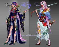 Open Adoptable C1 and C2 by belllka