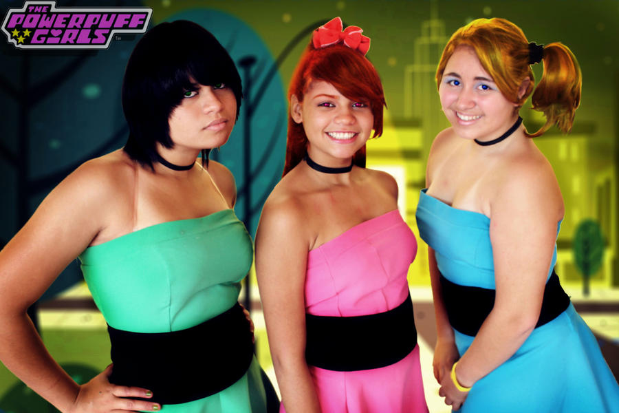 girls cosplay powerpuff The