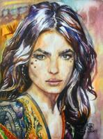 Boho Girl by SufiaEasel