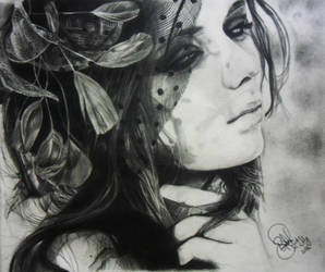 Sad Emo Girl by SufiaEasel