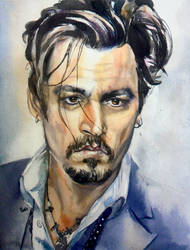 Johnny Depp by SufiaEasel