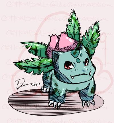 Ivysaur by cottonball