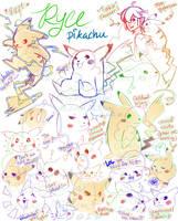 Pikachu : Ryce by cottonball