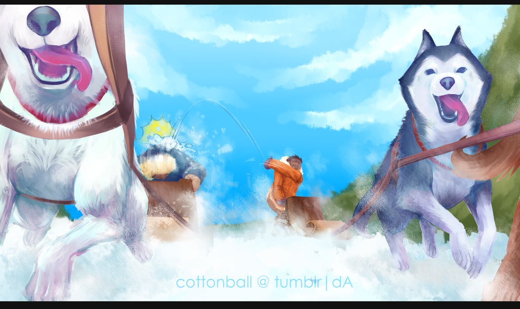 escapade by cottonball