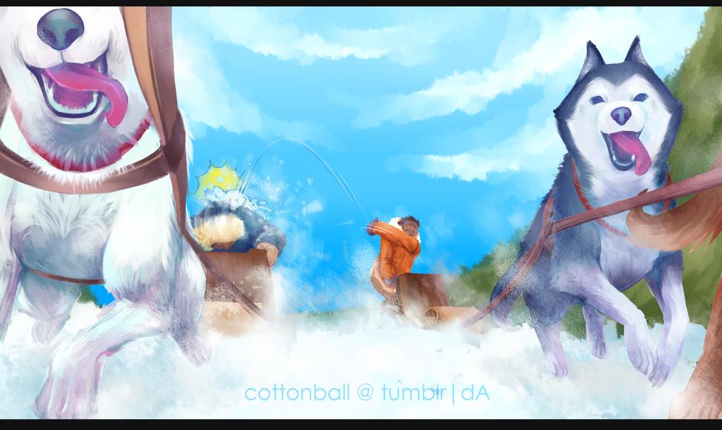 escapade by cottonball