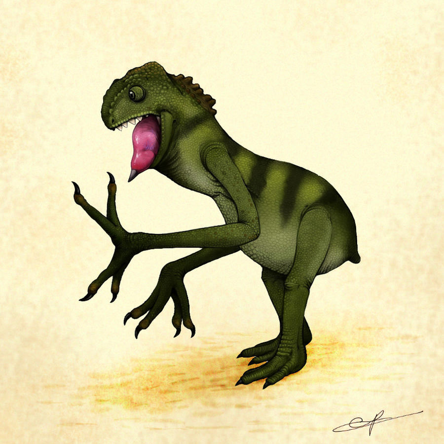 Terrible Terrameleon by electreel