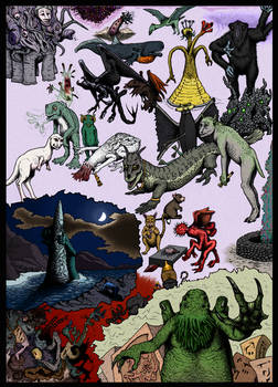 All Things Lovecraftian (in color)