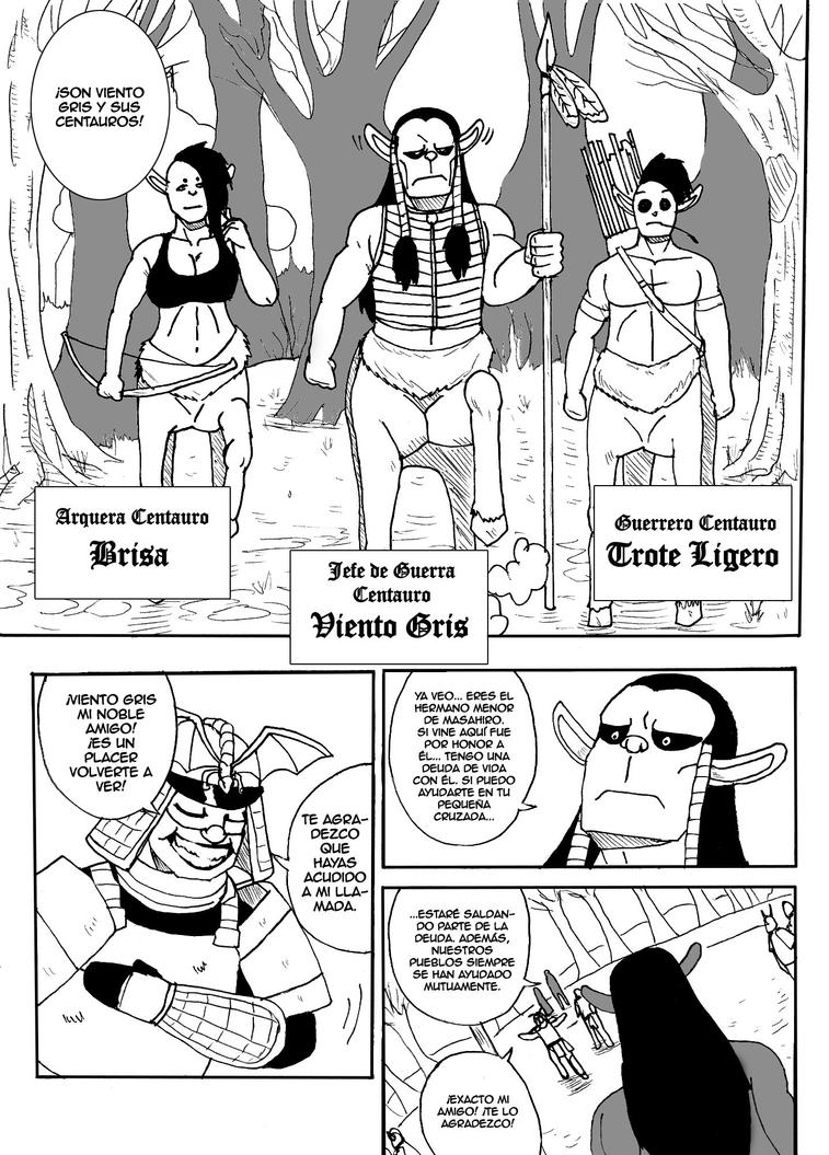 Ultimo dragon - Cap 4 - Pag 16 by cancertz on DeviantArt