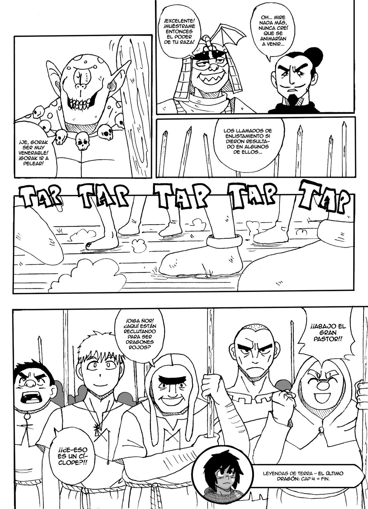 Ultimo dragon - Cap 4 - Pag 19 by cancertz on DeviantArt