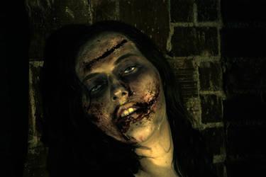 Zombie Girl by AlLwAyStHeRe4u