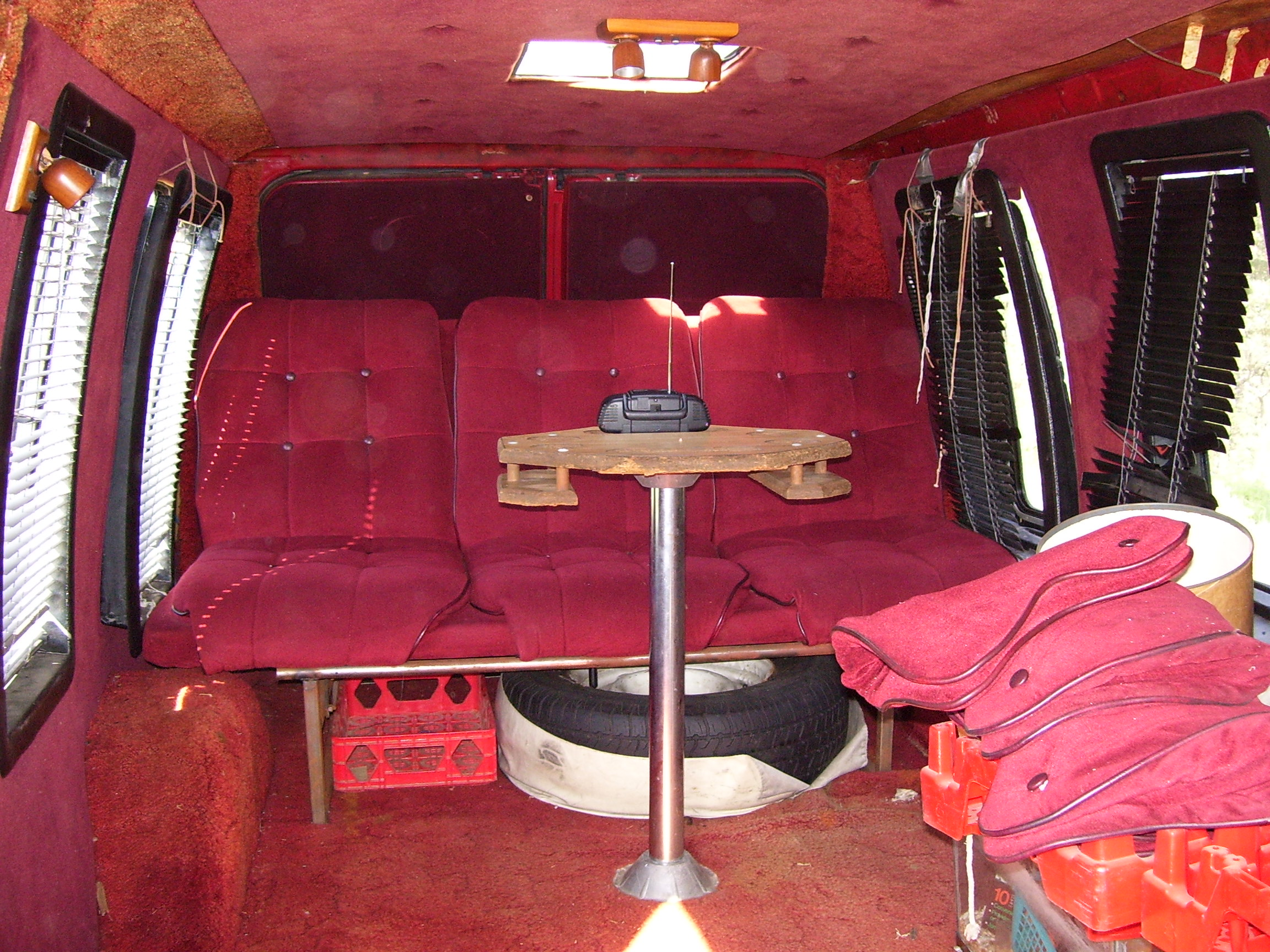 The van interior by musclecarlover69 on deviantart for Commercial van interior accessories
