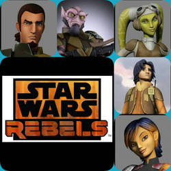 Star wars rebels Collage of organic rebels. by major-de-speed