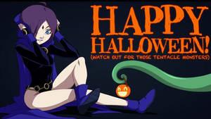 Zon-Tan Halloween Raven