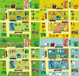 cartoon map 2