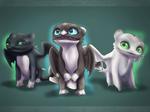Ruffrunner, Dart and Pouncer