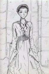 Sketchy Sansa by Mirax-chan