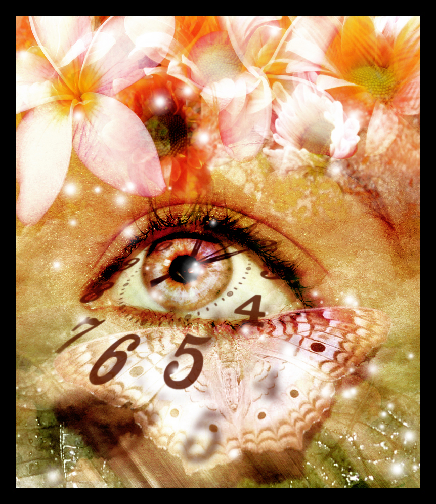 eye through time photo manipulation