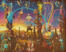 Dawn in the Garden of Creation by Tolkyes