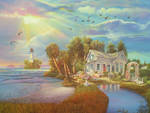 Florida Scene by Tolkyes
