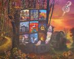 Autumn Shadow Box