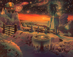 Winter in the Valley of the Stars