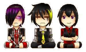 .:Pixel KKK Trio:. by Aikobo