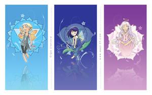 : chakra fairies : 2 by OlgaUlanova