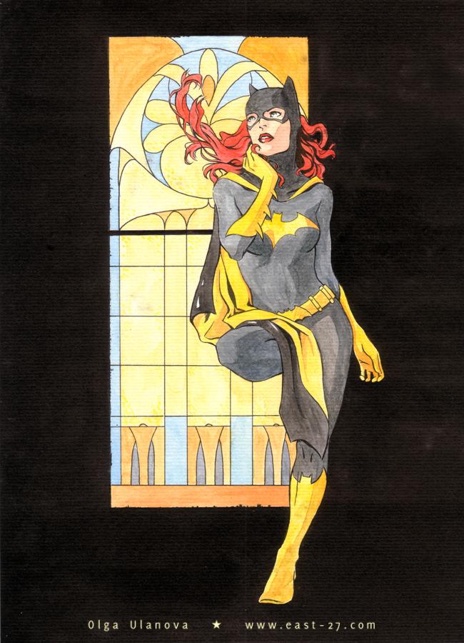 Batgirl a la nouveau by OlgaUlanova