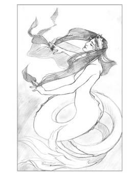 Art Challenge: Persian Mermaid
