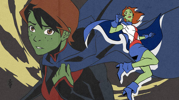 Miss Martian eyecatch