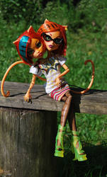 ~Monster high~Toralei Siamese twins~