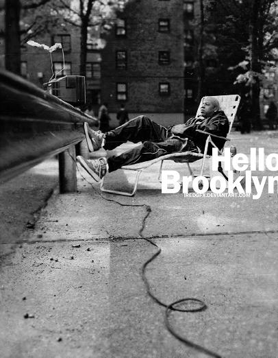 Hello Brooklyn Artwork By IRedGfx