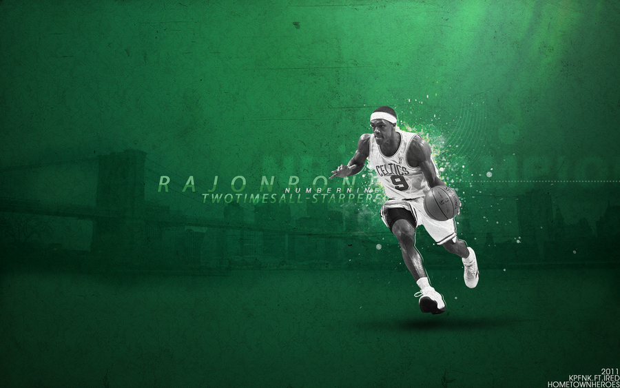 Rajon Rondo Wallpaper By IRedGfx On DeviantArt