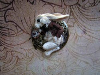 Lewis Carrol White Rabbit