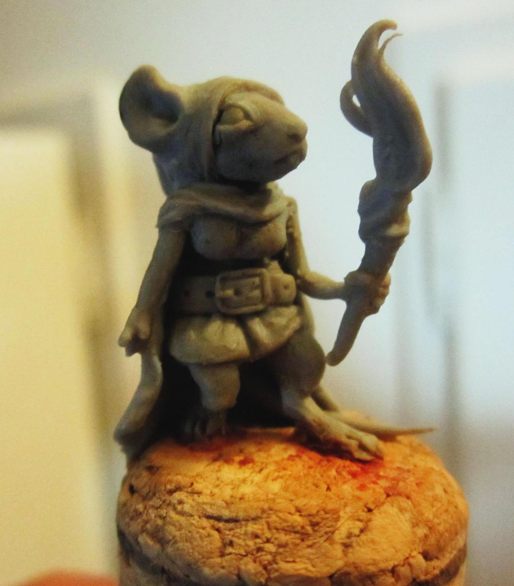My first miniature