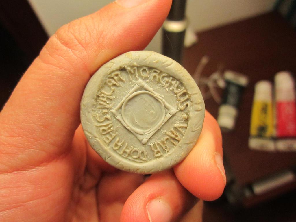 Arya's iron coin Valar Morghulis WIP
