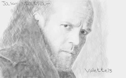 Jason Statham by violette13