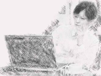 Gackt by violette13