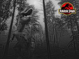 Jurassic Park - Tyrannosaurus Rex by tomzj1