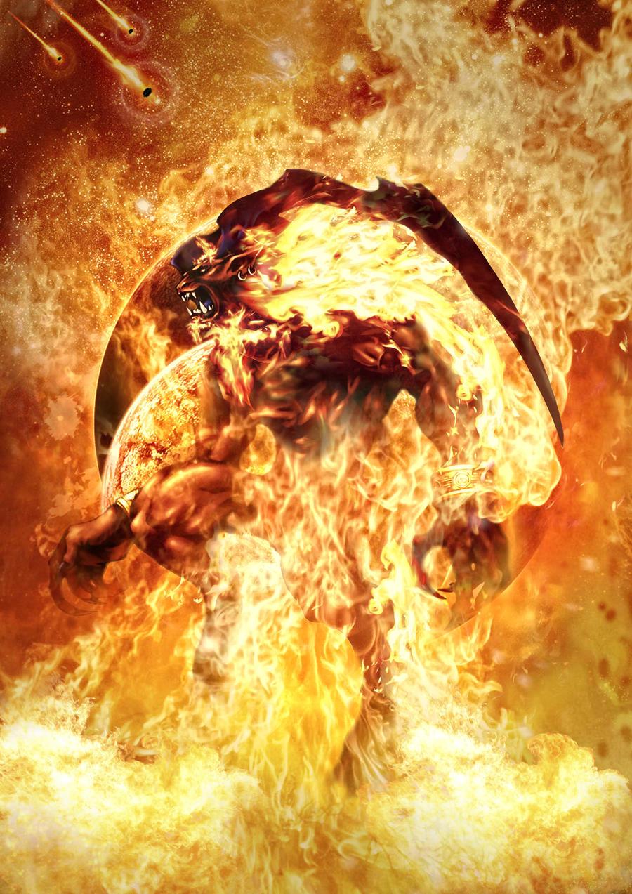 Final Fantasy Ifrit Wallpaper Final Fantasy VIII - G...