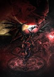 Final Fantasy VIII - Guardian Force - DIABLOS by tomzj1