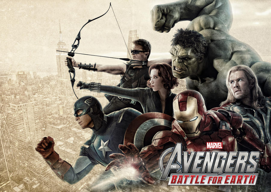 The Avengers - Battle For Earth by tomzj1