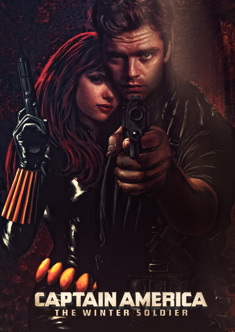 Winter Soldier and Black Widow by ~tomzj1