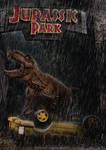 Jurassic Park - T-rex Main Road Attack