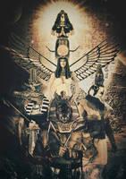 Egyptian Gods by tomzj1