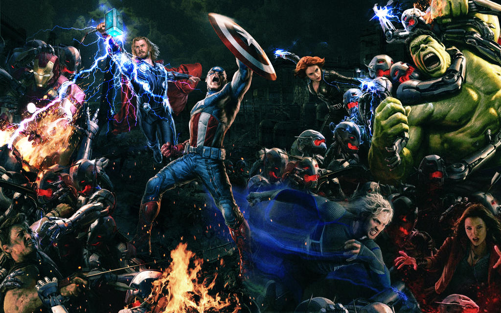 Avengers Age Of Ultron By Iloegbunam On Deviantart: The Age Of Ultron By Tomzj1 On DeviantArt