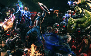 Avengers - The Age Of Ultron by tomzj1