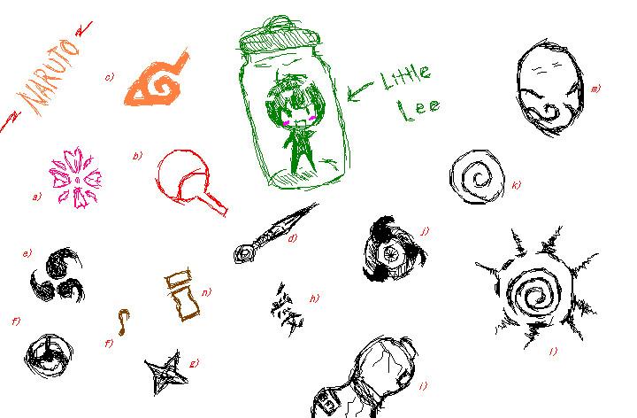 Naruto Symbols By Lone Wolf520 On Deviantart