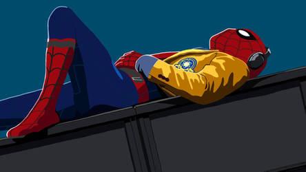 Spiderman by SarcasticChibi
