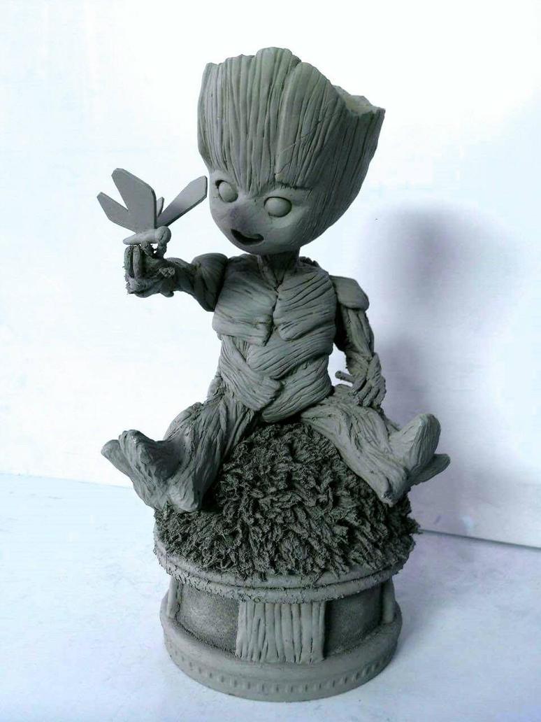 Kid Groot by lawliet21-27
